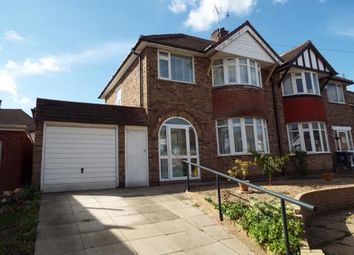 Thumbnail 3 bed semi-detached house for sale in Englefield Road, Evington, Leicester, Leicestershire