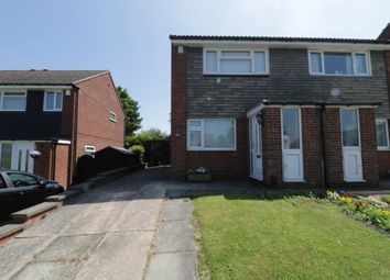 Thumbnail 2 bed semi-detached house for sale in Chapelfield Drive, Rotherham, South Yorkshire