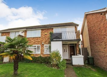 Thumbnail 2 bed flat to rent in Ashdown Walk, Romford