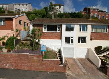 Thumbnail 3 bed semi-detached bungalow for sale in Chestnut Drive, Brixham