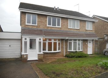 Thumbnail 3 bed semi-detached house to rent in Cottesmore Way, Wellingborough