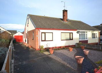 Thumbnail 3 bed semi-detached bungalow for sale in The Broadway, Abergele