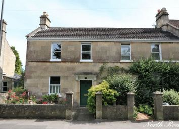 Thumbnail 2 bed end terrace house for sale in North Road, Combe Down, Bath