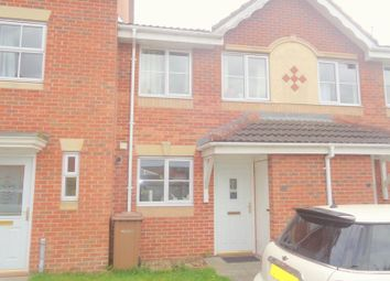 Thumbnail 2 bed terraced house to rent in Rockingham Close, Lincoln