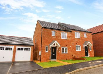 Caldburne Drive, Collingwood Manor, Morpeth NE61. 3 bed semi-detached house