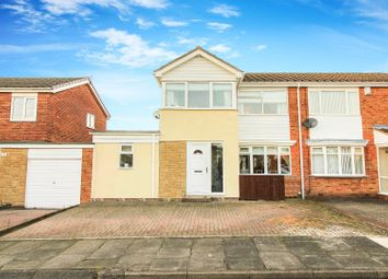 Thumbnail 3 bed semi-detached house for sale in Ascot Close, Wallsend