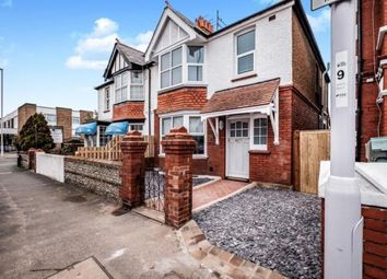 Thumbnail 3 bed semi-detached house for sale in Ham Road, Worthing, West Sussex