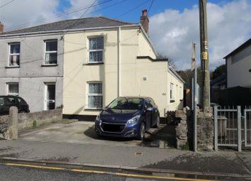 Thumbnail 2 bed semi-detached house for sale in Station Road, St. Blazey, Par