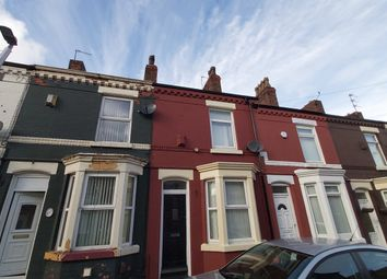 Thumbnail 1 bed terraced house for sale in Harrow Road, Anfield, Liverpool