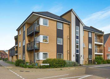 Thumbnail 2 bedroom flat for sale in Gloucester Gate, Broughton, Milton Keynes