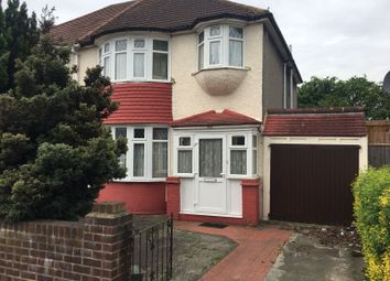 Thumbnail 3 bed semi-detached house to rent in Lady Margaret Road, Southall