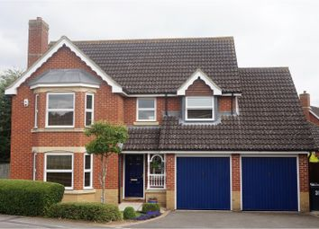 Thumbnail 4 bed detached house for sale in Dunnock Road, Ashford