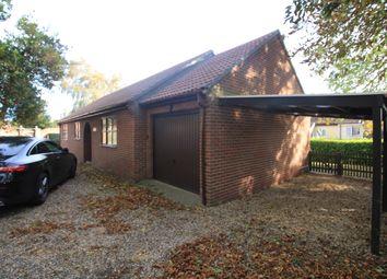 Thumbnail 3 bed detached bungalow to rent in London Road, Dereham, Norfolk