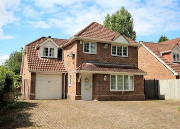 Thumbnail 4 bed detached house for sale in Reading Road, Finchampstead, Wokingham