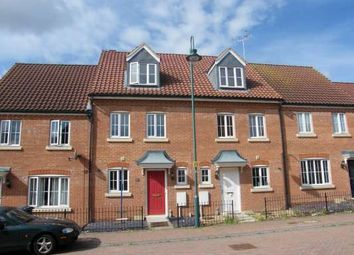 Thumbnail 3 bedroom town house to rent in Thorn Road, Hampton Hargate, Peterborough