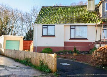 Thumbnail 2 bed semi-detached bungalow for sale in Longcroft Avenue, Brixham