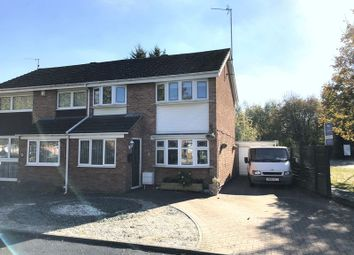 Thumbnail 3 bed semi-detached house for sale in Robinson Close, Covingham, Swindon