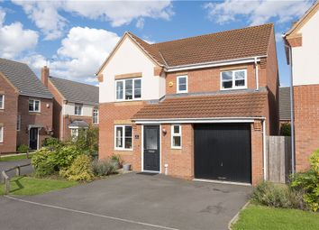 Thumbnail 4 bed detached house for sale in Salvia Way, Bedworth, Warwickshire