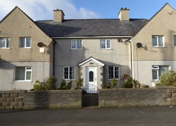 Thumbnail 4 bed terraced house for sale in Cremlyn, Bethel, Caernarfon