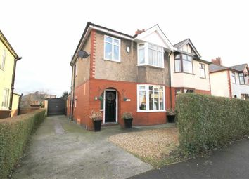 Thumbnail 3 bed semi-detached house for sale in Cadley Causeway, Fulwood, Preston
