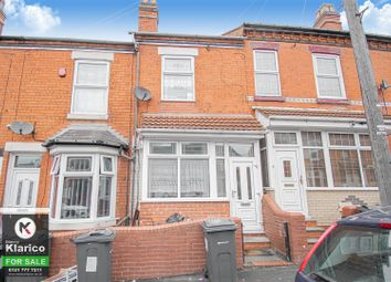 3 bed terraced house for sale in Newton Road, Sparkhill, Birmingham B11