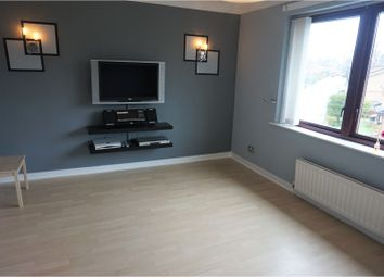 Thumbnail 2 bed flat for sale in Glencoats Drive, Paisley