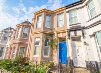 Thumbnail 3 bed terraced house for sale in Rosslyn Park Road, Peverell, Plymouth