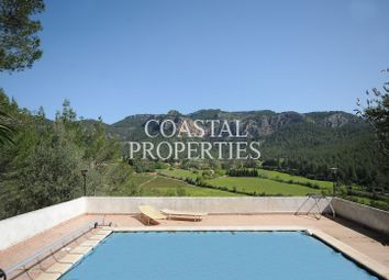 Thumbnail 4 bed country house for sale in Puigpunyent, Balearic Islands, Spain