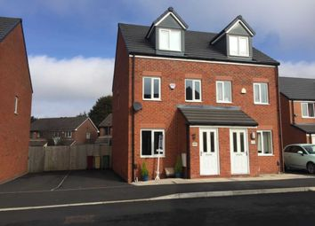 Thumbnail 3 bed semi-detached house for sale in Harrier Close, Lostock, Bolton