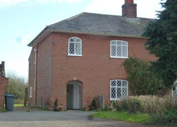 Thumbnail 3 bedroom terraced house to rent in Hall Farm House (North End), Marlesford