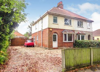 Thumbnail 3 bed semi-detached house for sale in Earlham Green Lane, Norwich