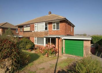 Thumbnail 3 bed semi-detached house for sale in Netherfields Crescent, Dronfield, Derbyshire