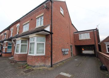 Thumbnail 1 bed flat to rent in Leicester Road, Leicester
