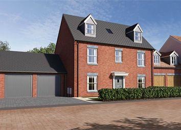 Thumbnail 4 bedroom detached house for sale in Hunters Grove, Cambridge Road, Puckeridge, Herts