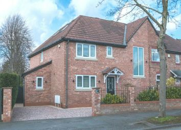 Thumbnail 4 bed semi-detached house for sale in Tithebarn Road, Hale Barns, Altrincham