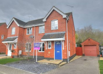 Thumbnail 3 bed semi-detached house for sale in Canfor Road, Norwich