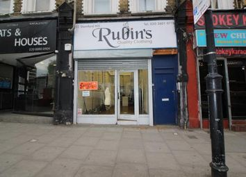Thumbnail Retail premises to let in Stamford Hill, London