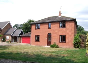 Thumbnail 4 bed detached house for sale in Brooke Drive, Peasenhall, Saxmundham