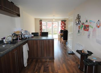 Thumbnail 3 bed town house for sale in Peregrine Drive, Stowmarket