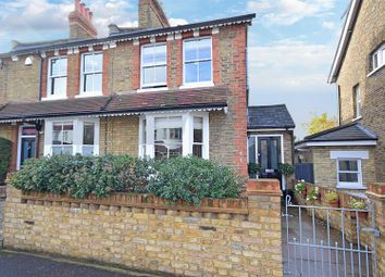 Thumbnail 3 bed end terrace house for sale in Burtons Road, Hampton Hill, Hampton