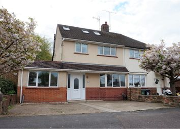 Thumbnail 4 bed semi-detached house for sale in Underwood Avenue, Aldershot