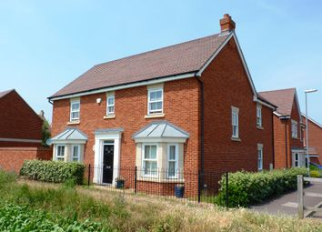 Thumbnail 4 bed detached house for sale in Exmoor Avenue, Biggleswade