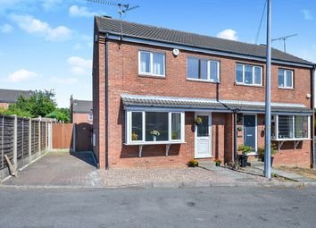Thumbnail 3 bed semi-detached house for sale in Elmhurst Close, Broadmeadows, South Normanton, Alfreton