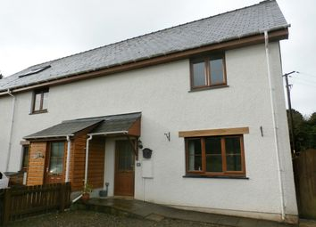Thumbnail 2 bed semi-detached house for sale in Cysgod Y Llan, Llanddewi Brefi, Tregaron