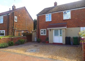 Thumbnail 3 Bed Semi Detached House For Sale In Poplar Avenue Peterborough Cambridgeshire