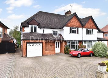 Thumbnail 5 bedroom semi-detached house for sale in Bradmore Way, Brookmans Park