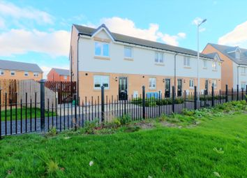 Thumbnail 3 bed end terrace house for sale in Corvus Place, Motherwell