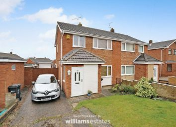 Thumbnail 3 bed semi-detached house for sale in Pen Y Maes, Buckley