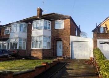 Thumbnail 3 bed semi-detached house for sale in Denewood Avenue, Handsworth Wood, Birmingham