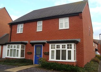 Thumbnail 4 bed detached house to rent in Donington Drive, Woodville